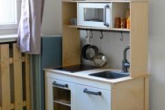 Spielküche im Familiencafe Rubens Ort für Familien