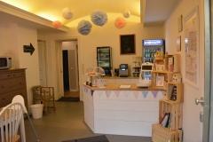 Familiencafe Raum 1 - Tresenbereich
